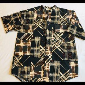 Gottex - Men's Collarless Hawaiian Shirt